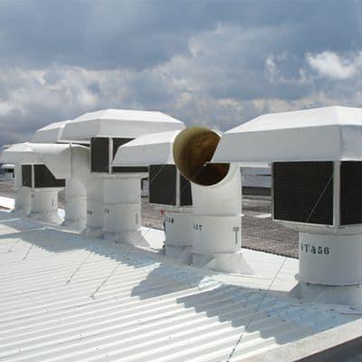 Exaustores industriais com filtro proporcionam maior qualidade do ar