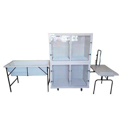 Por que devo garantir a qualidade da mesa de banho e tosa?