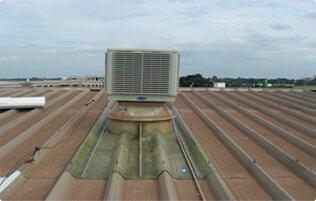 Climatizador de Telhado