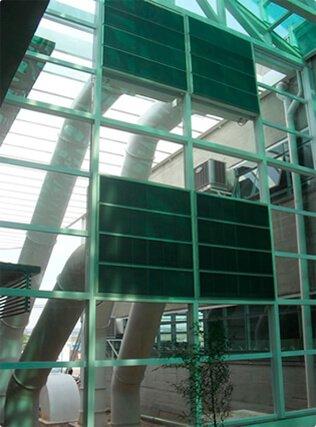 Sistema de ventilação para Galpões